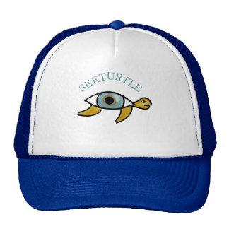 See Turtle Hat