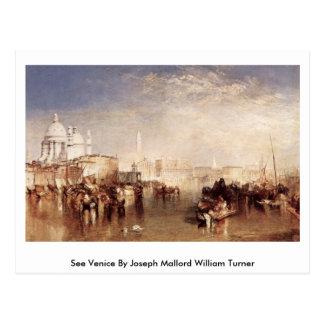 See Venice By Joseph Mallord William Turner Postcard