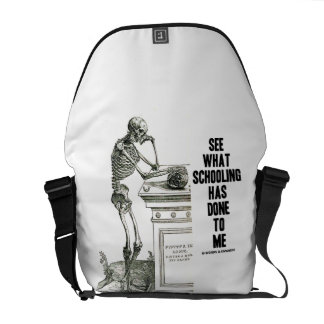 See What Schooling Has Done To Me (Vesalius) Courier Bag