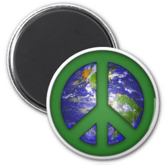 See World Peace 2 Inch Round Magnet