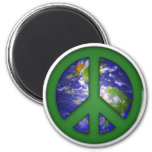 See World Peace Fridge Magnet