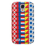 See Worthy_Signal Flags pattern_I Love to sail Samsung Galaxy S4 Cases