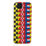 See Worthy_Signal Flags pattern_I Love to sail iPhone 4 Case-Mate Case