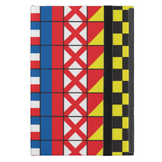 See Worthy_Signal Flags pattern_I Love To Sail Case For iPad Mini