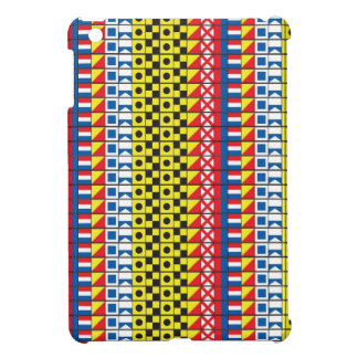 See Worthy_Signal Flags pattern_I Love to sail iPad Mini Covers