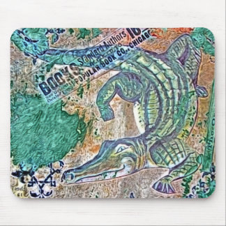 See Ya Later Gator, After Awhile Croc Mixed Media Mouse Pad