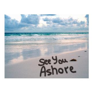 See You Ashore Postcard