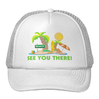 See You At The Beach Trucker Hat