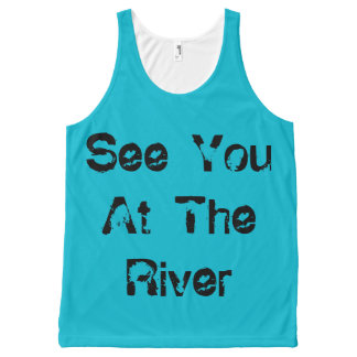 See You At The River All-Over Print Tank Top