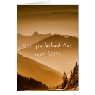 See you - card