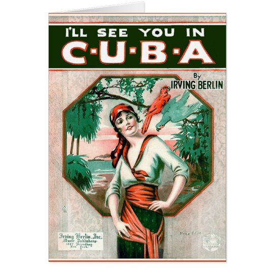 See You In Cuba Card