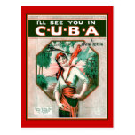 See You In Cuba Postcard