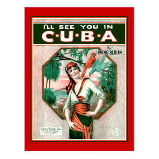 See You In Cuba Postcard