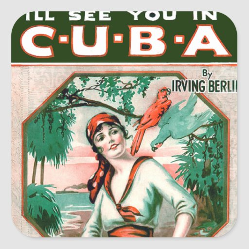 See You In Cuba Stickers