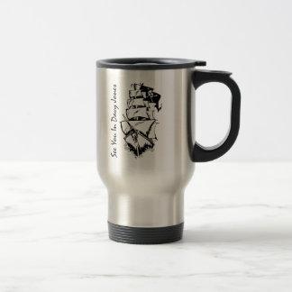 See You In Davy Jones 15 Oz Stainless Steel Travel Mug