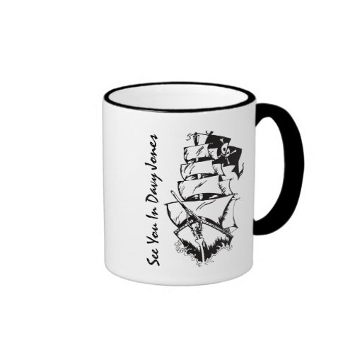 See You In Davy Jones Mugs