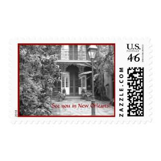 See you in New Orleans Postage Stamps