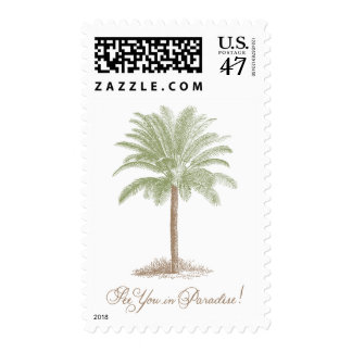 See You in Paradise Stamp