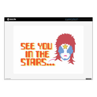 """See You In Stars Decals For 15"""" Laptops"""