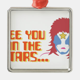 See You In Stars Metal Ornament