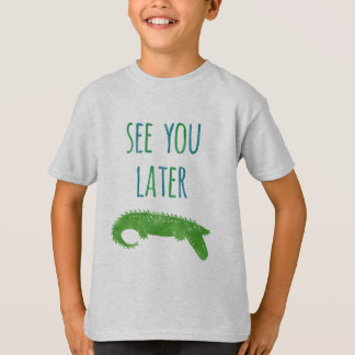 See You Later Alligator Funny Kids T-Shirt