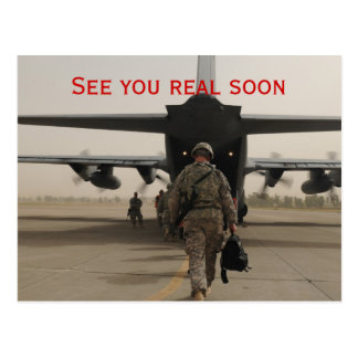 See you real soon (Afghanistan) Post Cards