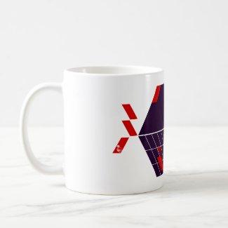 Seed-Cubic graphic mug