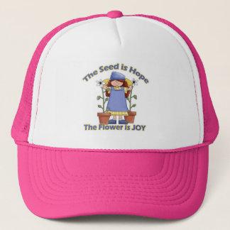 Seed is Hope Flower is Joy Trucker Hat