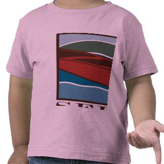 Seed Lake - Big canoe on front Tshirts