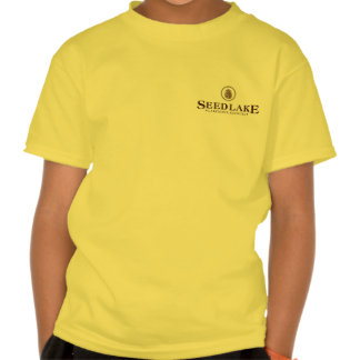 Seed Lake - pine cone logo on front, blank on back Shirts