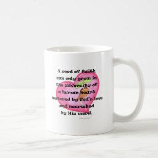 seed of faith coffee mug