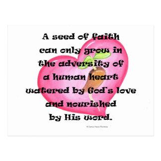 seed of faith postcard