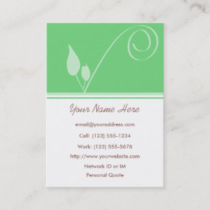 Seed business cards zazzle seed of inspiration profile business card colourmoves
