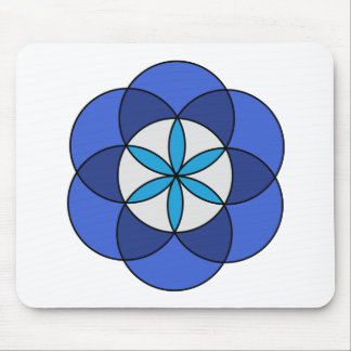 Seed of Life1 Mouse Pad