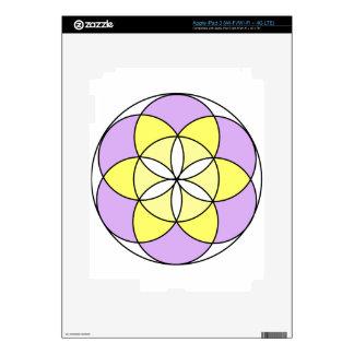 Seed of Life Angel 03 iPad 3 Skins