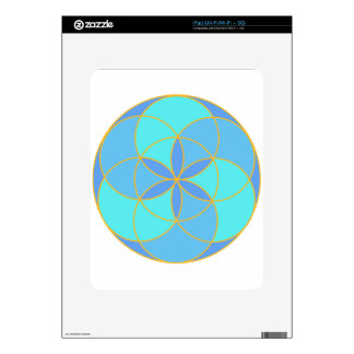 Seed of Life Angel 11 Decal For The iPad