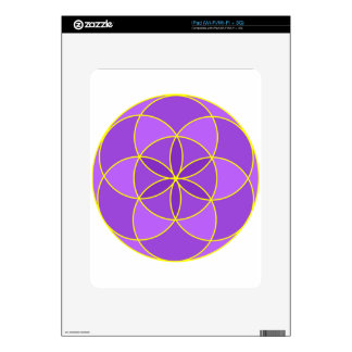 Seed of Life Angel 17 Decal For iPad