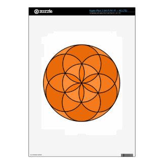 Seed of Life Angel 23 Skins For iPad 3
