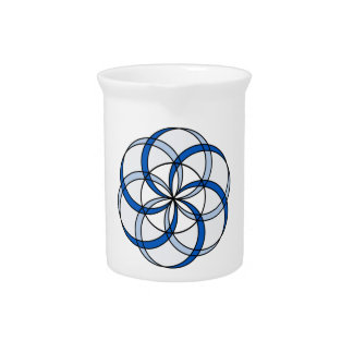 Seed of Life Double1 Beverage Pitchers