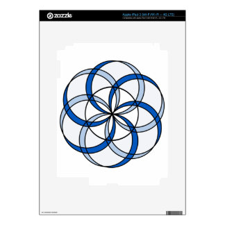Seed of Life Double1 Decal For iPad 3