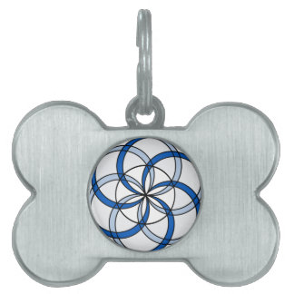 Seed of Life Double1 Pet ID Tag