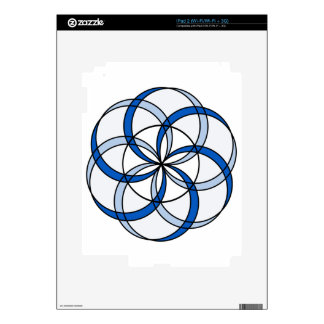 Seed of Life Double1 Skin For iPad 2