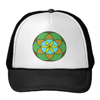 Seed of Life Earth2 Trucker Hat