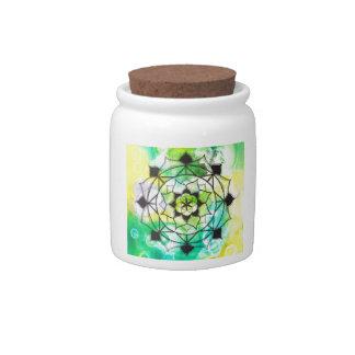 Seed of Life Mandala Candy Dish