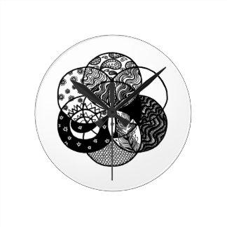 Seed of Life Mandala Clock