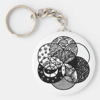 Seed of Life Mandala Keychain