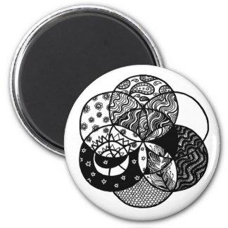 Seed of Life Mandala Magnet