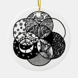Seed of Life Mandala Ornament