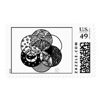 Seed of Life Mandala Postage