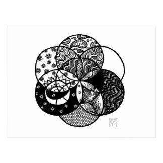 Seed of Life Mandala Postcard
